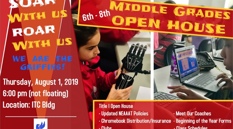 Middle Grades Open House